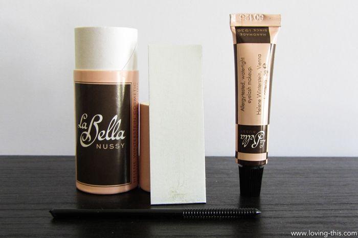 Wimperntusche La Bella Nussy - ohne Parabene und palmölfrei