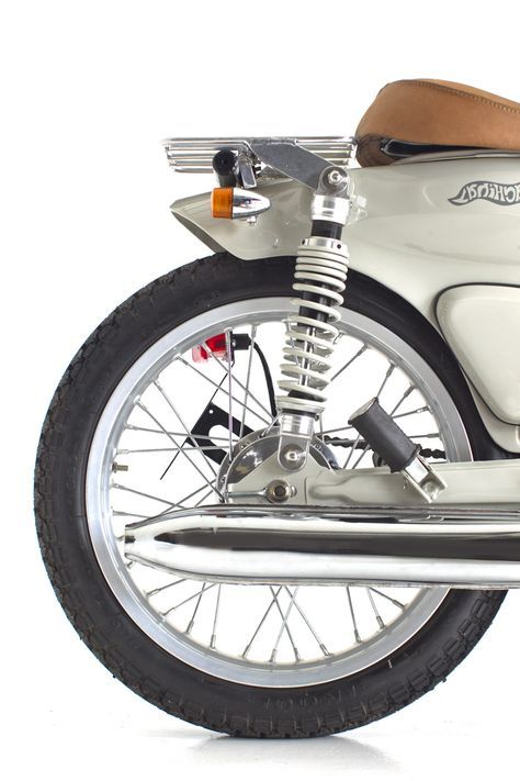 The devils in the detail… Honda C70 | Deus Ex Machina | Custom Motorcycles, Surfboards, Clothing and Accessories