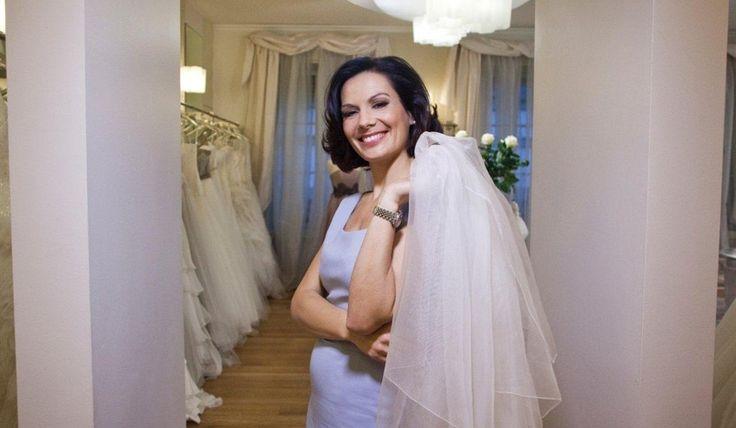 Alessandra Rinaudo nelle boutique Nicole.