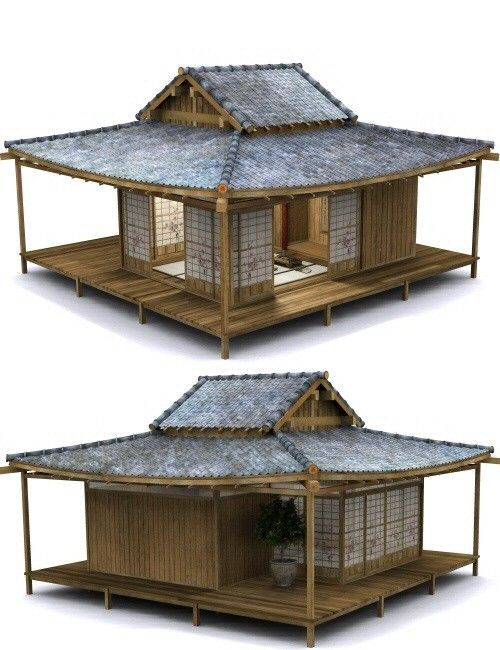 Japanese Tea Garden & Tea House bundle | Environments and Props for Daz Studio and Poser
