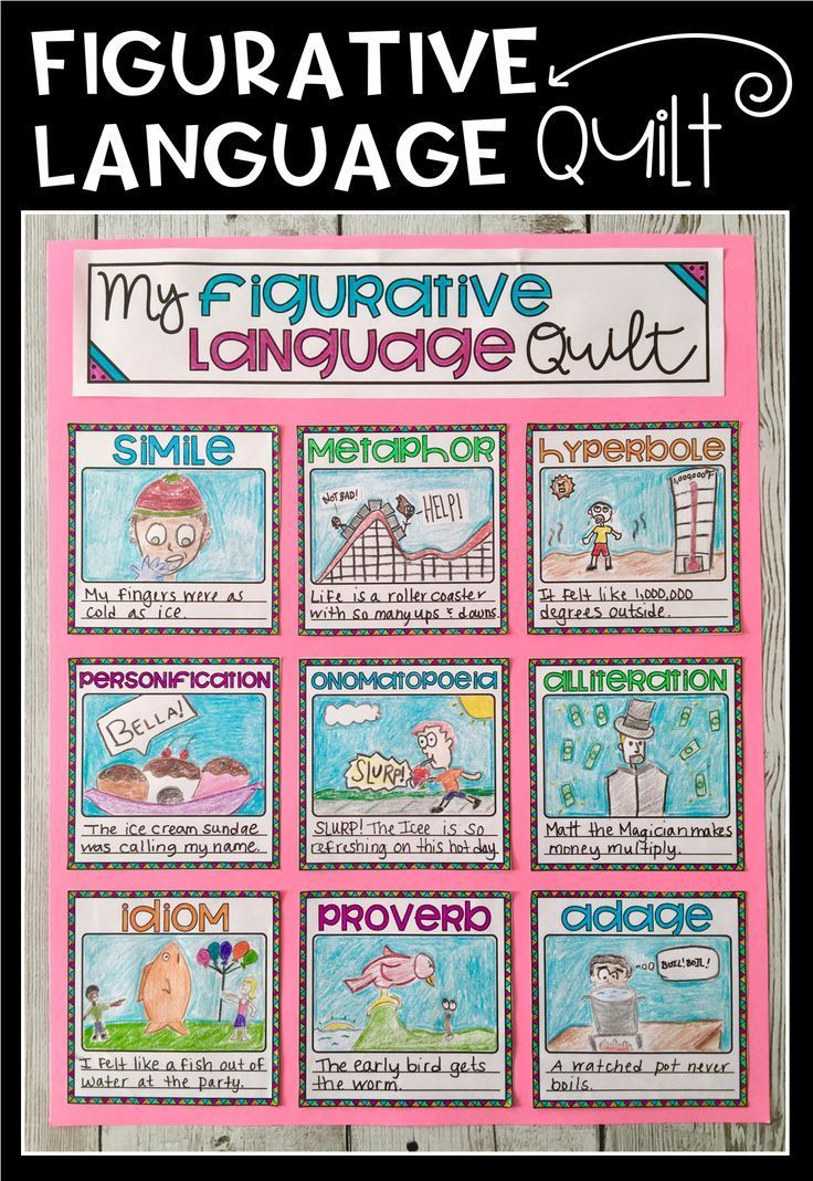 the 25 best figurative language activity ideas on