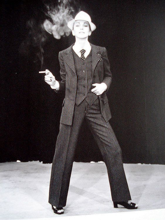 Yves Saint Laurent: History, Women S Suits, Yves Saint Laurent, Women S Pantsuit, Female Suit, Custom Suits, Women In Suits, Photo