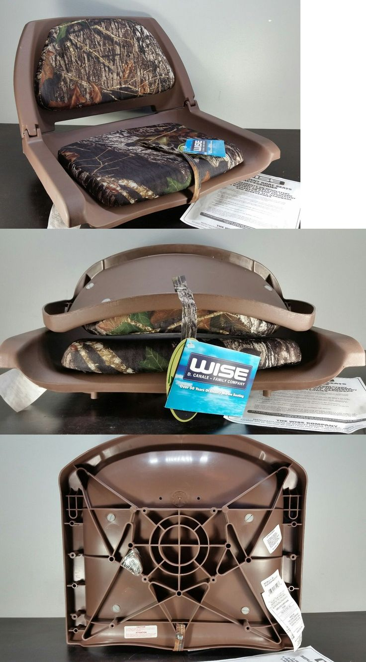 Chairs and Seats 19985: Wise 8Wd139 Series Molded Fishing Boat Seat With Camoflage Cushion Pads -> BUY IT NOW ONLY: $44.85 on eBay!