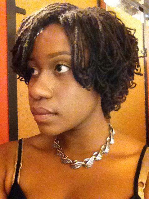 Sisterlocks Hairstyles 22 Best Sister Locks Short Styles Images On Pinterest  Short Cuts