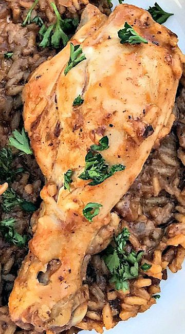 Instant Pot Chicken Drumsticks & Rice