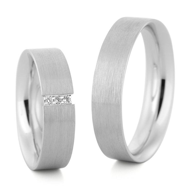 #Eheringe#Weißgold#Diamanten#Marrying