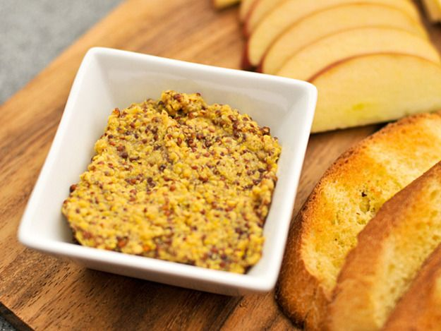whole grain dijon mustard (friend made this and it was SO good!)