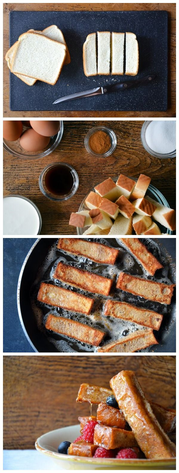 Easy Cinnamon French Toast Sticks Recipe
