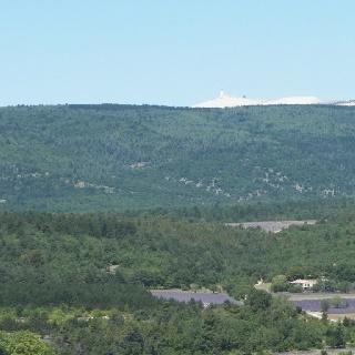 Le Mont Ventoux tout la-haut