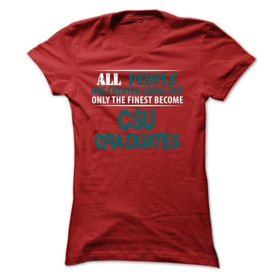 Awesome Tee Limited Edition -  Chicago State University (CSU) Graduates T shirts