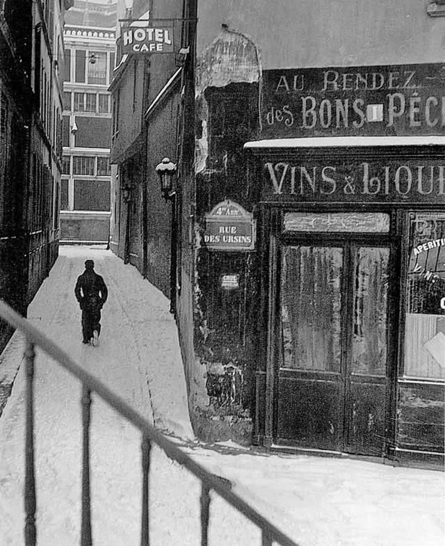 rue des Ursins, IVème photo Doisneau