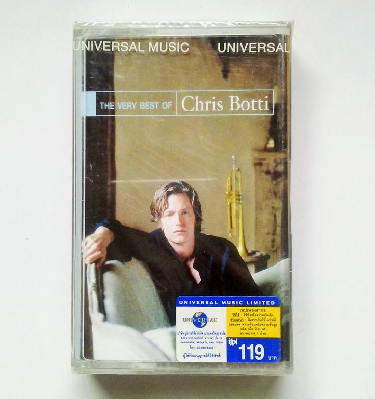 Chris Botti - The Very Best Of Chris Botti / ORG Thailand Cassette Edition >NEW<