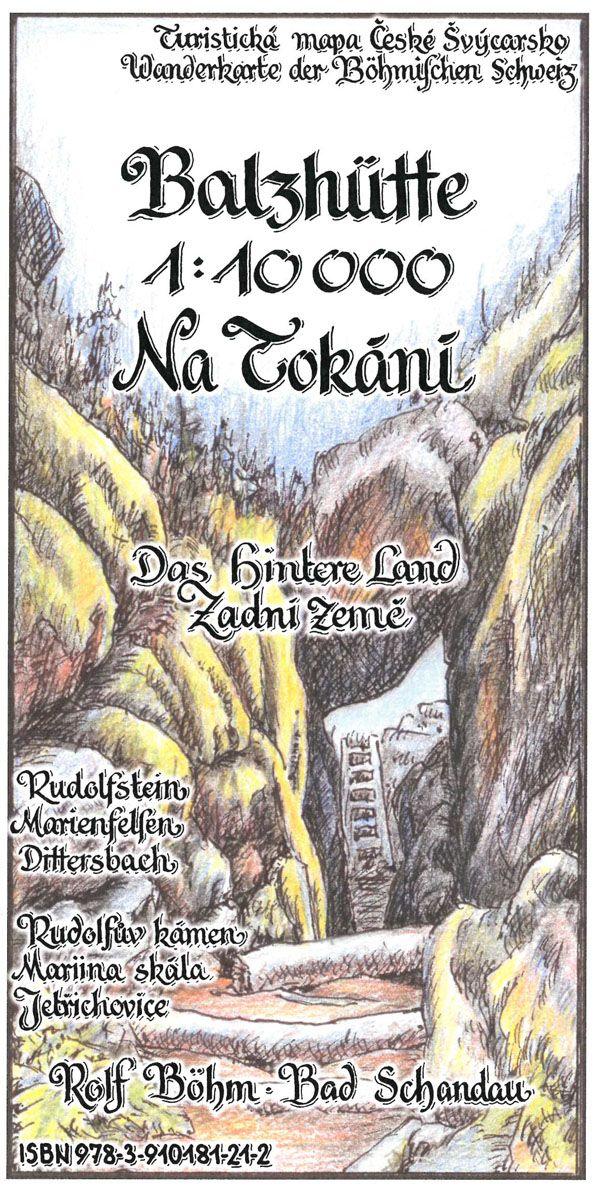 Wanderkarte Balzhutte Na Tokani Massstab 1 10 000 Herausgeber
