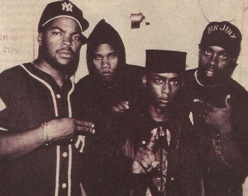 Ice Cube, K-Solo, Prosfessor Griff, Sir Jinx♥