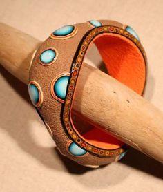 Tuto : Réaliser un bracelet avec de la pâte polymère, par Cernit