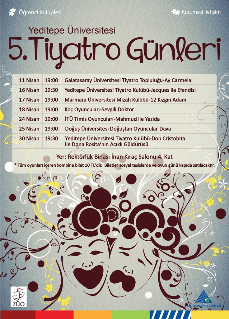 5. Yeditepe Üniversitesi Tiyatro Günleri