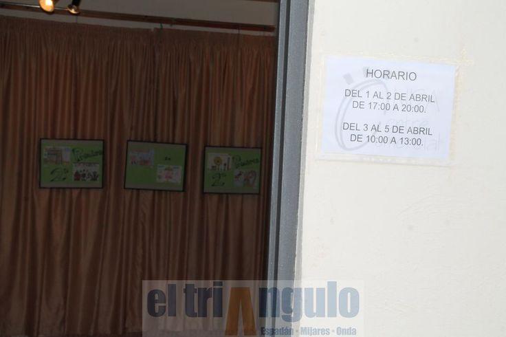 Hasta el 5 de abril, en la Caja Rural de Onda (entrada por c. la Vall d'Uixó), exposición del concurso de dibujo escolar de Onda Centre Comercial por la Feria de Pascua http://www.eltriangulo.es/contenidos/?p=54868