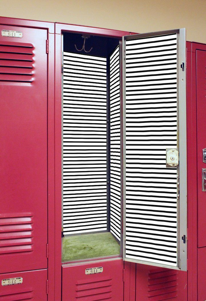 This locker wallpaper is the easiest way to