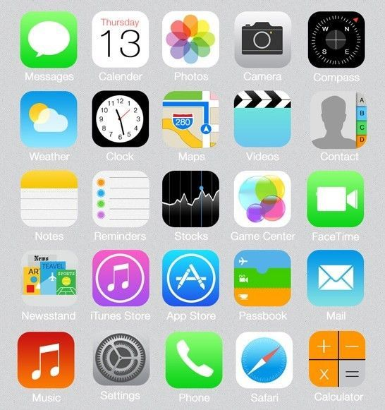 iphone 8 icon organisation