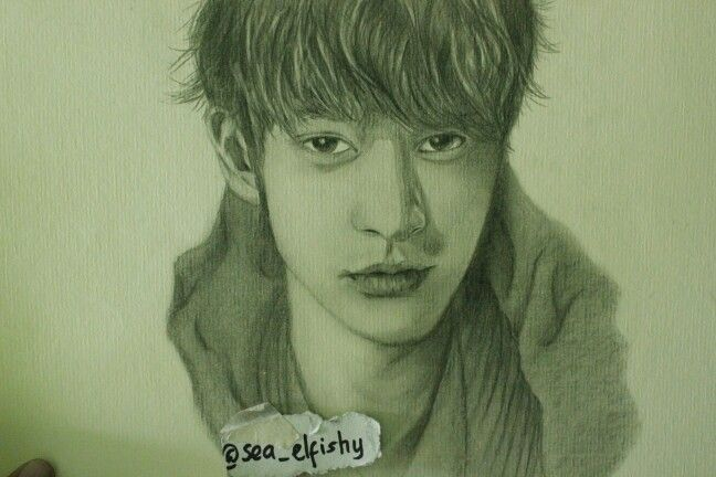 my artwork, jung joon young, my rookie rocker :3