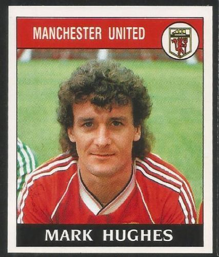 Panini 89 Football 1989 #137 - MANCHESTER UNITED - MARK HUGHES