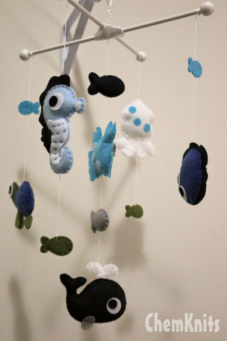 ChemKnits: Lucky's Under the Sea Nursery