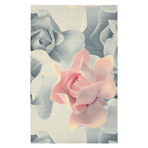 Buy Ted Baker Porcelain Rose Rug, Pink/Grey Online at johnlewis.com