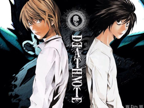 Death Note-Wallpaper-Kira/Light and L | Death Note ...