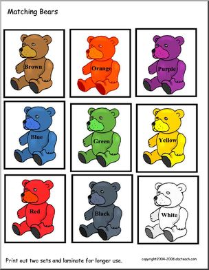 Teddy Bear Theme Unit - Worksheets and Printables