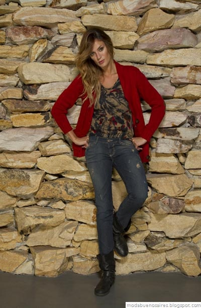 Vov Jeans Moda otoño invierno 2012. Sacos tejidos mujer invierno 2012.