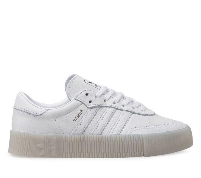 Shop Adidas Womens Sambarose White