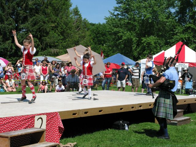 Live music, Scottish games and dancing are just a few of the activities for families at the Embro Highland Games