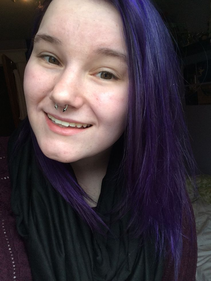 When I first dyed my hair