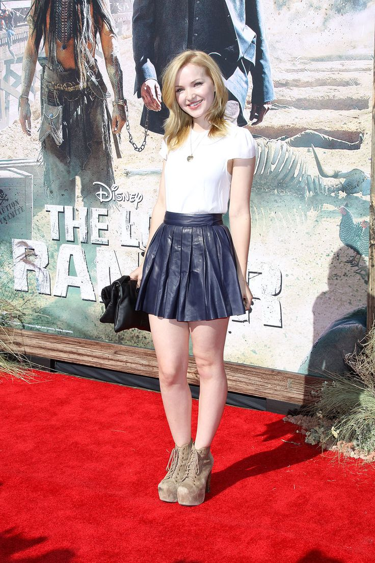 Dove Cameron She is a hot darling and also I like the way she dresses. Sal