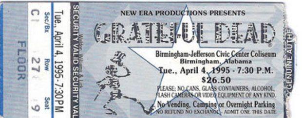 How The Birmingham News busted teen's Grateful Dead secret at 1995 show | AL.com