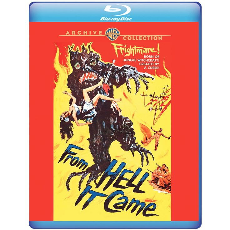From Hell It Came - Blu-Ray (Warner Archive Region Free) Release Date: April 25, 2017 (Amazon U.S.)
