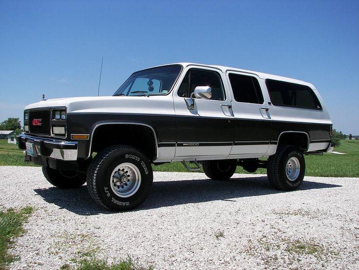1991 Gmc Suburban #1 | Rebuild Ideas | Chevrolet suburban ...