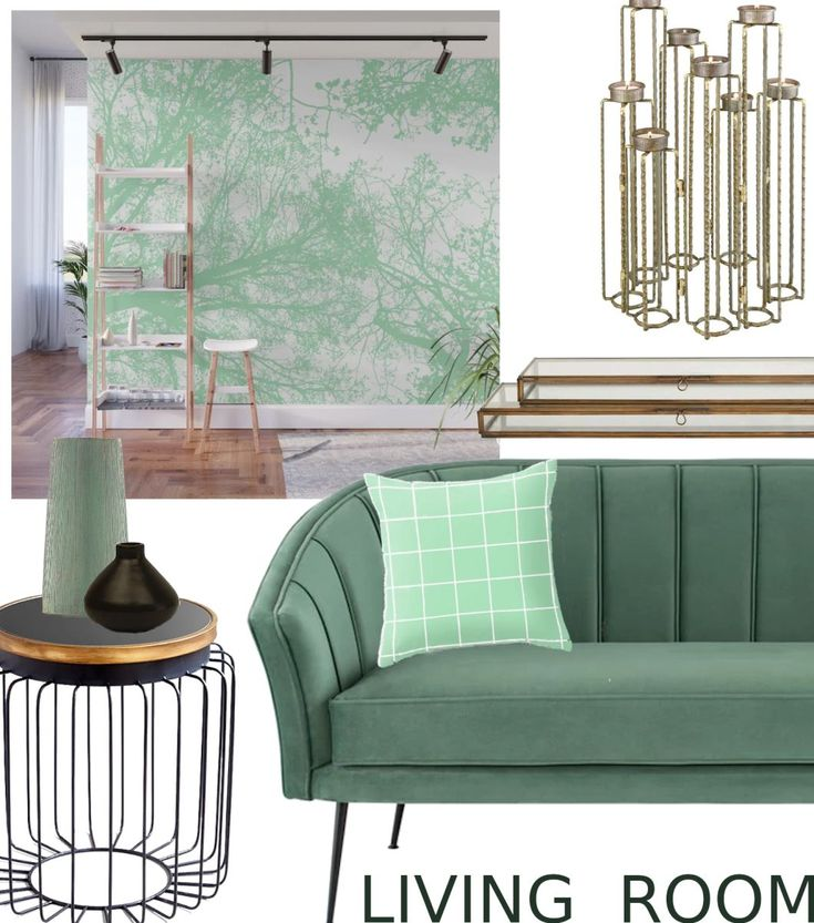 Get The Style. Teal Vs Mint Shade Living Room #homedecor