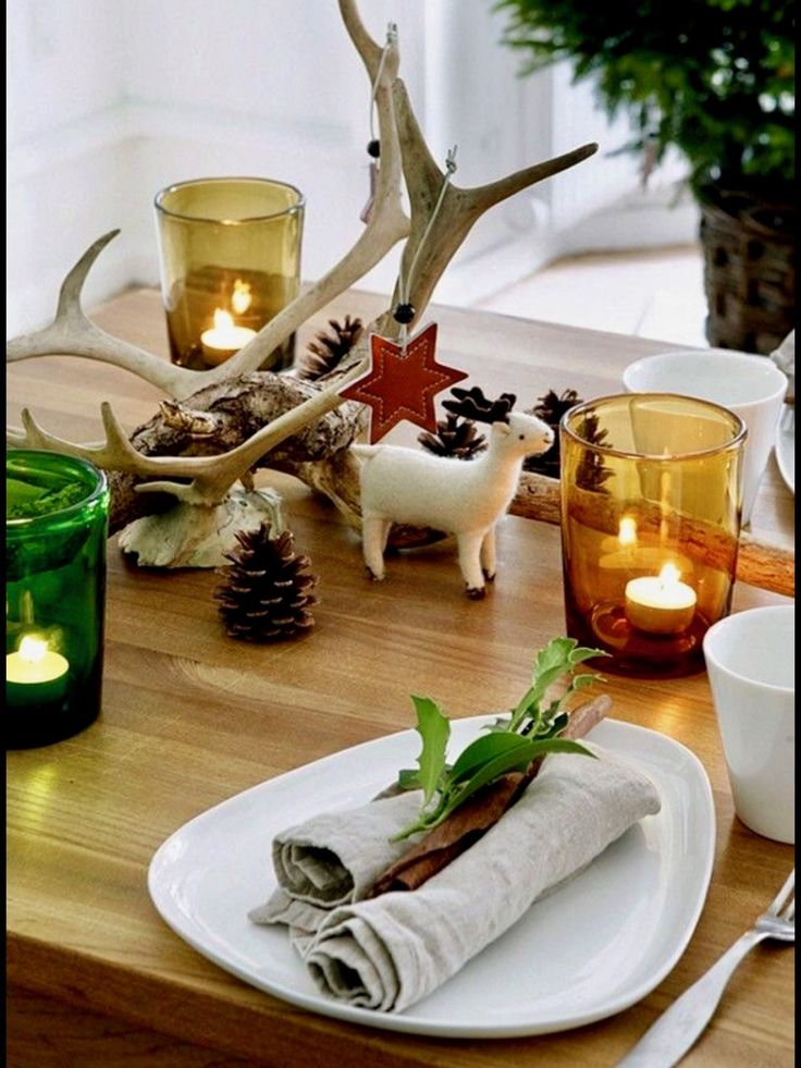 Top 150 Christmas Tables (1/5)🎄. Top 250 Christmas Table Decorating Ideas  ...