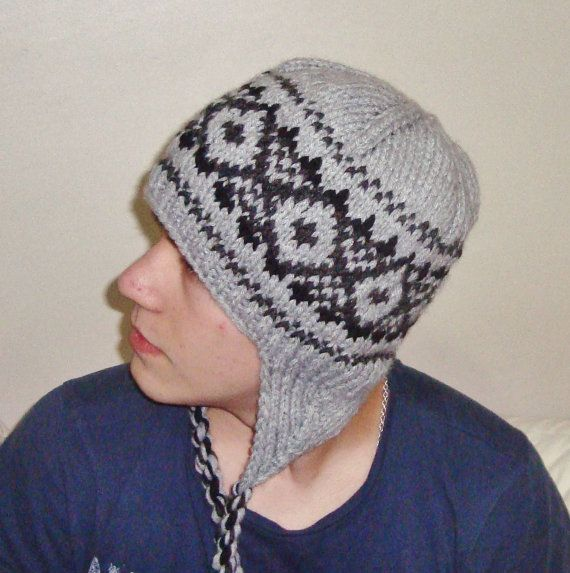 toddler knit hat ear flaps pattern 5e