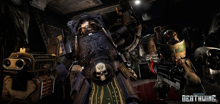 Space-Hulk-Deathwing-On-PS4-Coming-2015-Debut-Trailer-Unveiled  Streum On Studio are proud to unveil the first debut trailer of Space Hulk: Deathwing coming to PlayStation 4 in 2015. The brand new trailer below captures real in-game action,  powered by the awesome Unreal Engine 4.  #PS4Games #SpaceHulkDeathWing #PlaystationGames #StreumOnStudio