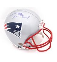 New England Patriots Tom Brady autograph Proline Helmet
