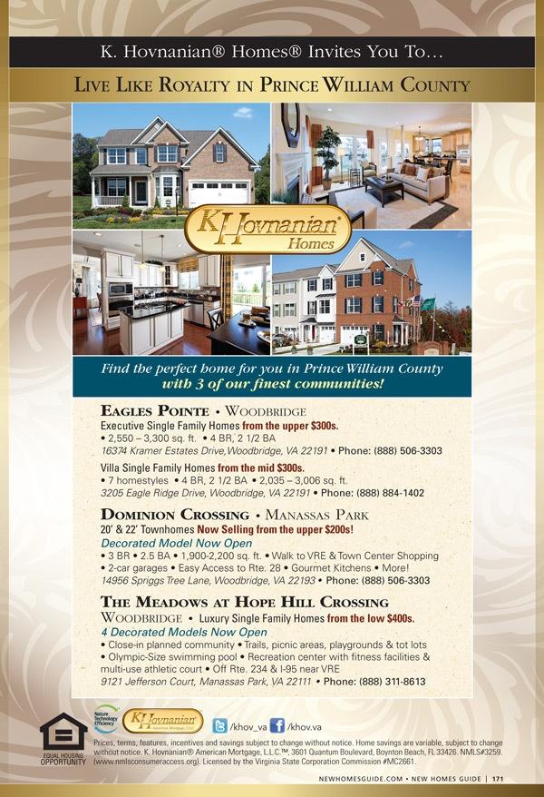 K. Hovnanian Homes - New Homes Guide