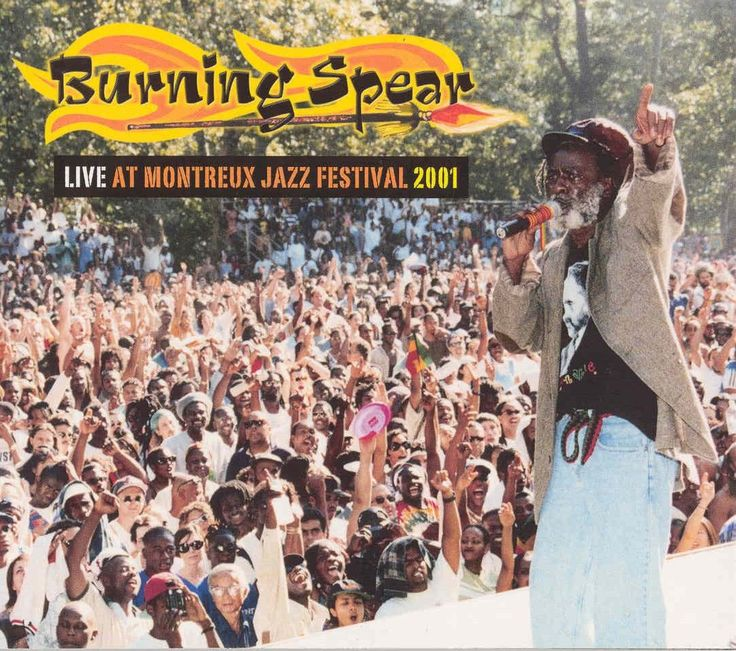 Burning Spear Live In Concerts.
