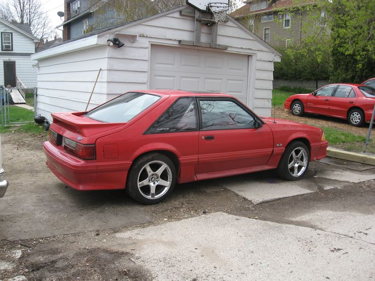 1989 Ford Mustang 1989 Ford Mustang GT LX specifications