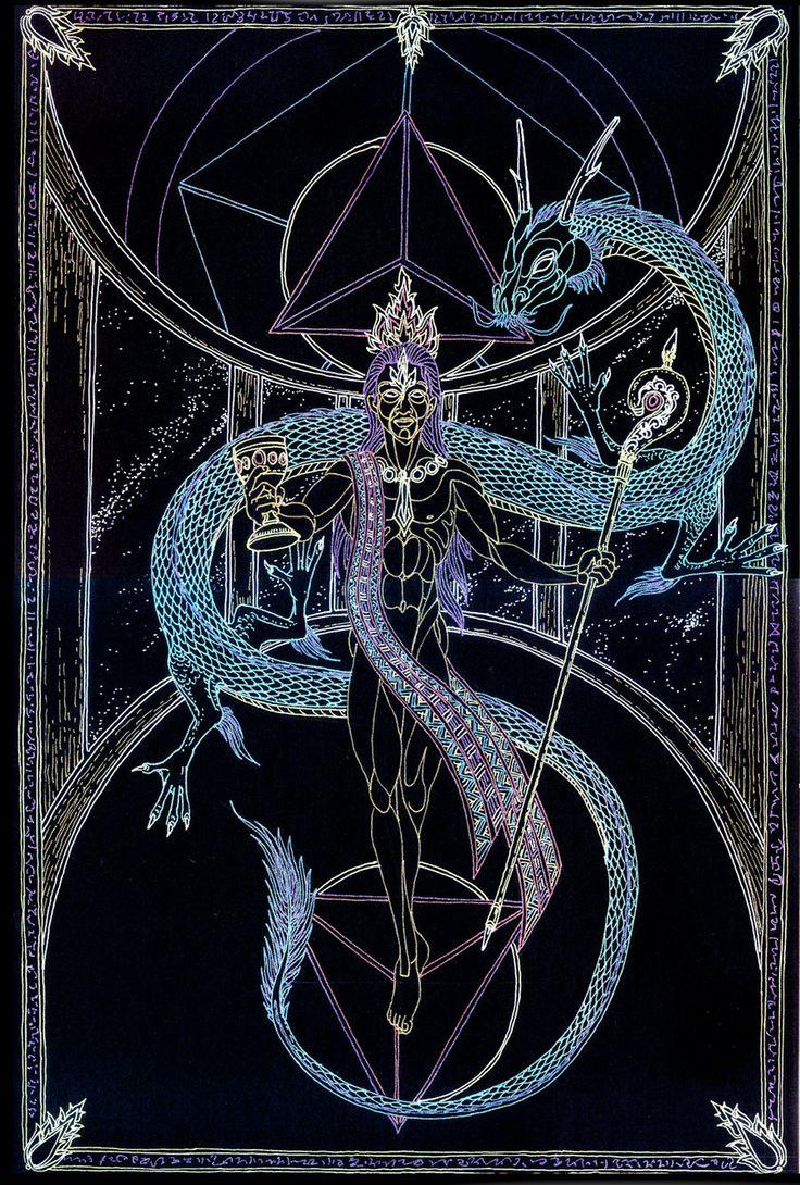 Arcana - The Mage by Lakandiwa.deviantart.com on @DeviantArt