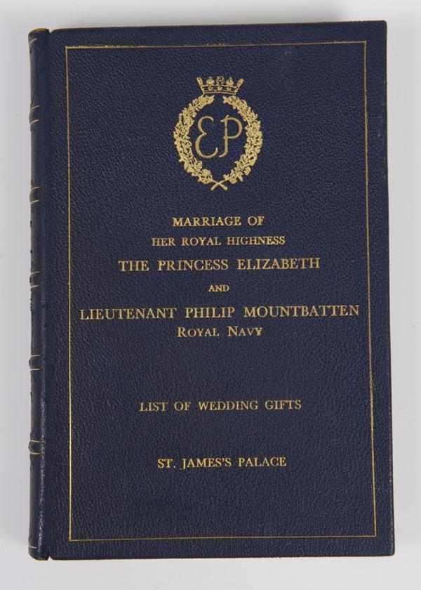 List Of Wedding Gifts Princess Elizabeth : List of Wedding Gifts for The Marriage of HRH The Princess Elizabeth ...