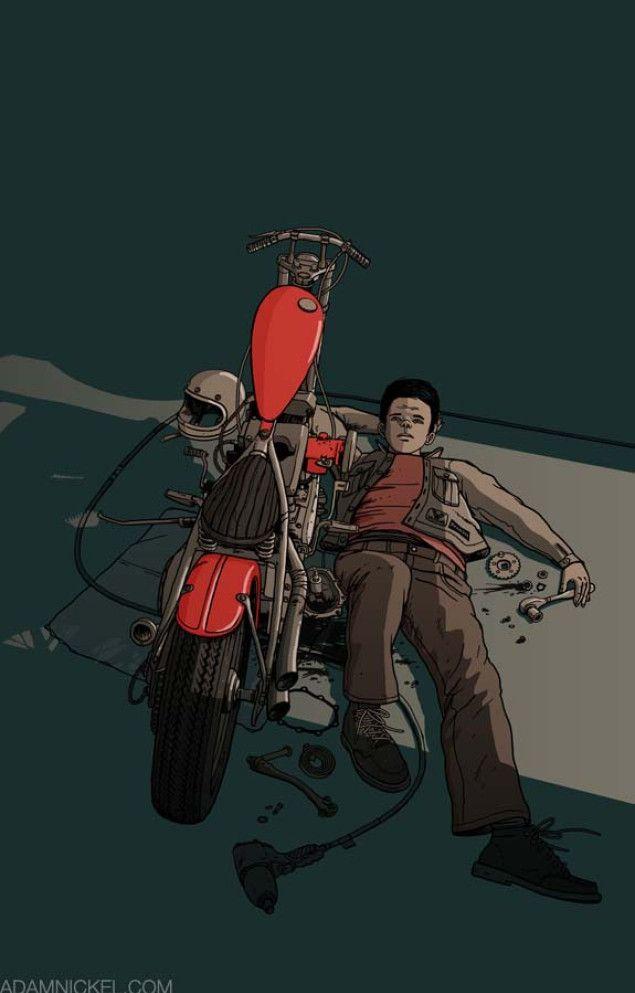 Adam-Nickel-motorcycle-art-defeat