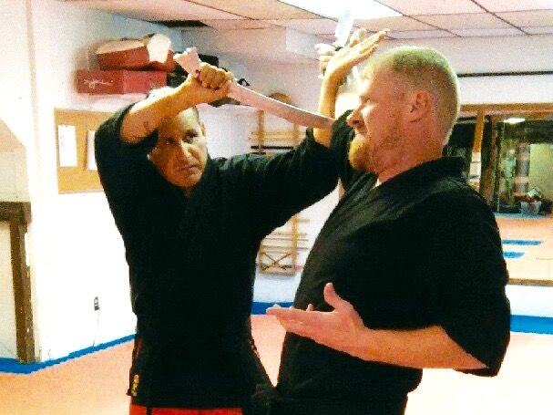 When Jonathan Old Horse, 47, defended himself against a simulated knife attack…