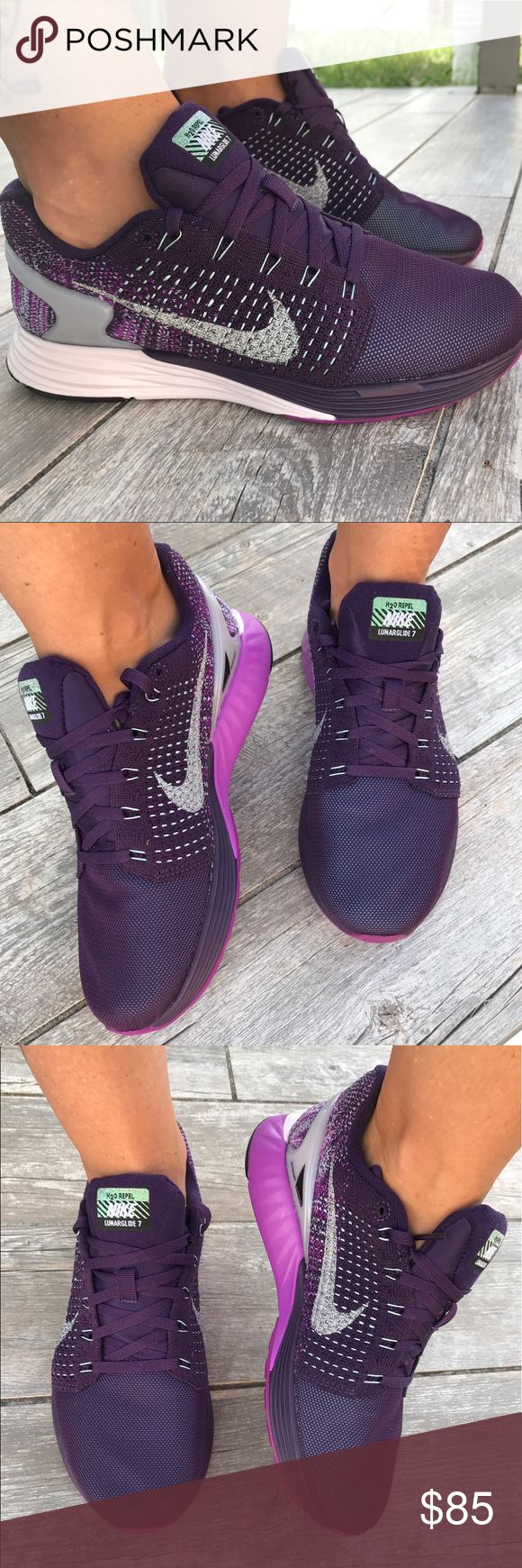 💜Purple mood💜lunarglide 💜Comfortable sneakers Purple mood💜Comfortable sneakers .New lunarglide Nike Shoes Sneakers